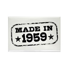 Made In 1959 Rectangle Magnet