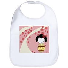 Yellow Geisha Bib