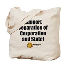 Support Separation Tote Bag