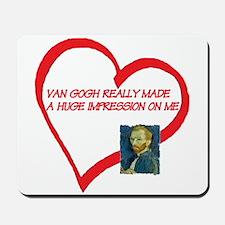 I Love Van Gogh Mousepad