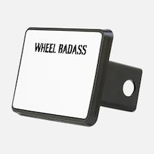 Wheel Badass Plain Print Hitch Cover