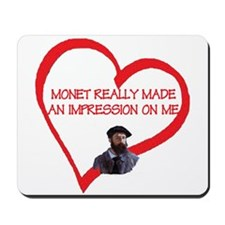 I Love Monet Mousepad