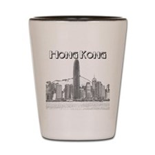 Hong Kong Shot Glass