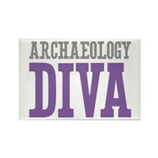 Archaeology DIVA Rectangle Magnet (10 pack)
