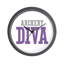 Archery DIVA Wall Clock