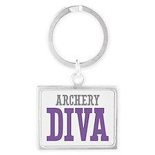 Archery DIVA Landscape Keychain