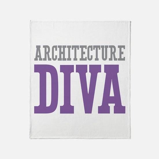 Architecture DIVA Throw Blanket