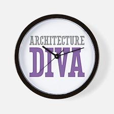 Architecture DIVA Wall Clock