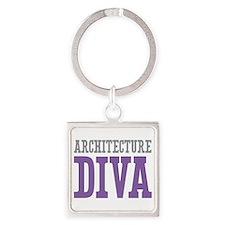 Architecture DIVA Square Keychain