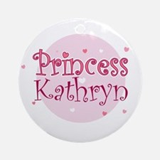 Kathryn Ornament (Round)