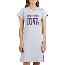 Astrobiology DIVA Women's Nightshirt