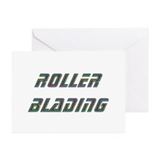Roller Blading Greeting Cards (Pk of 10)