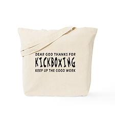 Kickboxing Martial Arts Designs Tote Bag