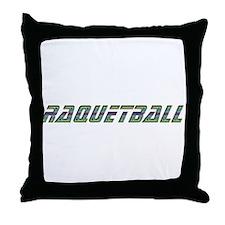 Raquetball Design Throw Pillow
