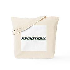 Raquetball Design Tote Bag