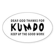 Kumdo Martial Arts Designs Decal