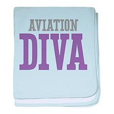 Aviation DIVA baby blanket