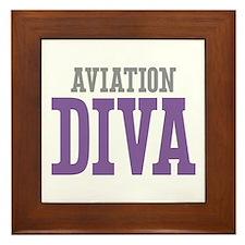 Aviation DIVA Framed Tile