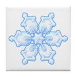 Flurry Snowflake I Tile Coaster