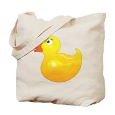 Cute Yellow Duckie Tote Bag