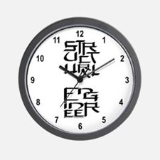 Structural Engineer Character Wall Clock