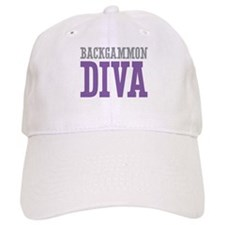 Backgammon DIVA Baseball Cap