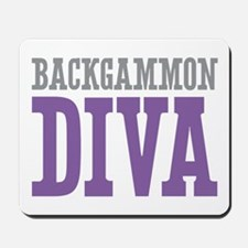 Backgammon DIVA Mousepad
