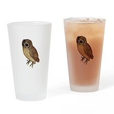 Little Owl by Durer Drinking Glass