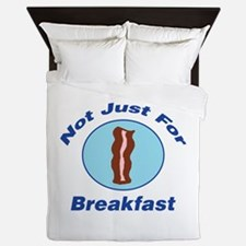 Not Just For Breakfast Queen Duvet