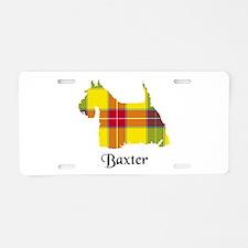 Terrier - Baxter Aluminum License Plate