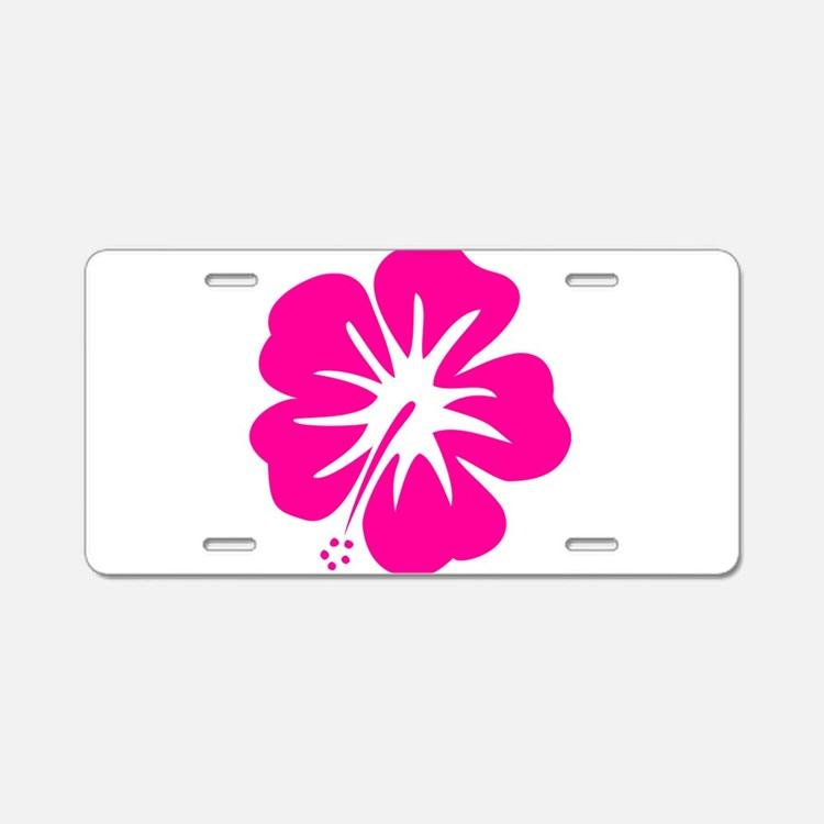 tag pink hibiscus flower - photo #41