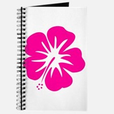 Hot Pink Hibiscus Journal