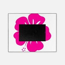 Hot Pink Hibiscus Picture Frame