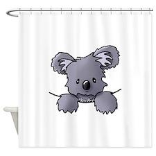 Baby Koala Shower Curtain