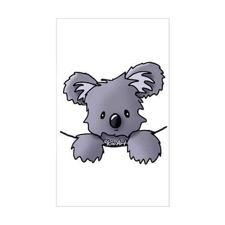 Baby Koala Sticker (Rectangle)