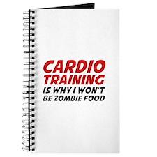 Cardio Training Zombie Food Journal