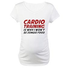 Cardio Training Zombie Food Shirt