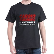 Cardio Training Zombie Food T-Shirt