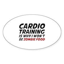 Cardio Training Zombie Food Decal