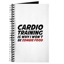 Cardio Training Zombie Food Journal