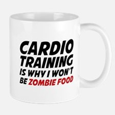 Cardio Training Zombie Food Mug