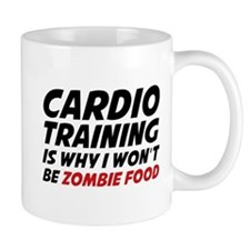 Cardio Training Zombie Food Mug