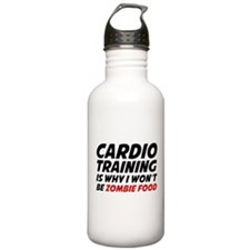 Cardio Training Zombie Food Water Bottle