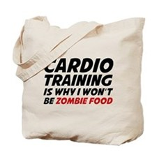 Cardio Training Zombie Food Tote Bag