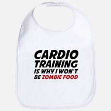Cardio Training Zombie Food Bib