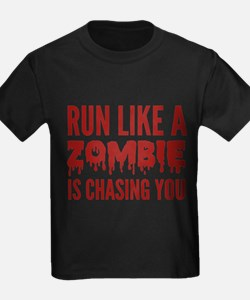 Run like a zombie is chasing you T