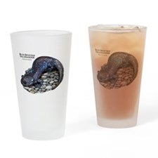 Blue-Spotted Salamander Drinking Glass