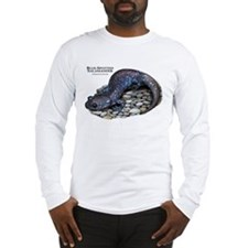 Blue-Spotted Salamander Long Sleeve T-Shirt