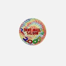 2007 Bent Nail Tie Dye logo Mini Button