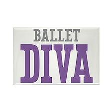 Ballet DIVA Rectangle Magnet
